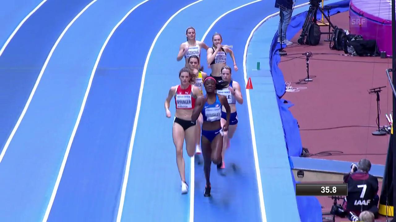 Der 400-m-Halbfinal mit Lea Sprunger