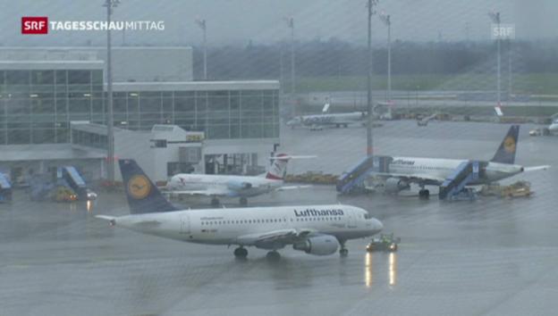 Video «Pilotenstreik bei der Lufthansa» abspielen