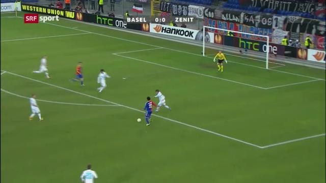 Spielbericht: Basel - St. Petersburg («sportaktuell»)