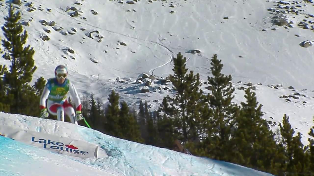 Ski: Super-G Lake Louise, Sandro Viletta