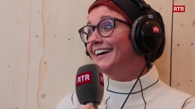 Laschar ir video «Quant bain sa Steffi Buchli rumantsch?»