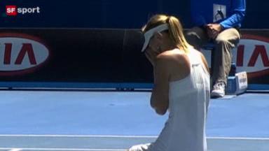 Video «Tennis - Australian Open: Final Frauen» abspielen