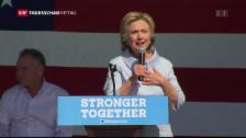 Video «Wie steht es um Hillary Clintons Gesundheit?» abspielen