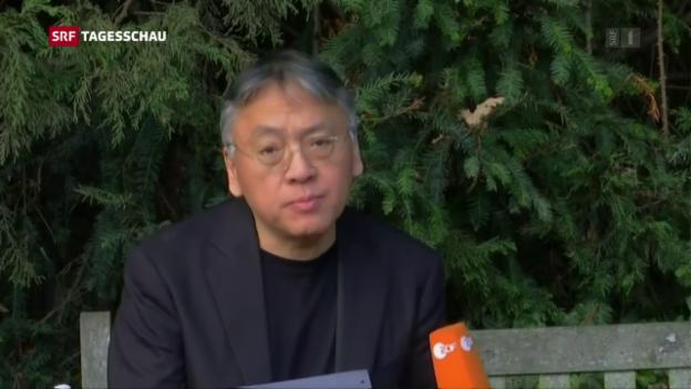 Video «Kazuo Ishiguro erhält Literaturnobelpreis» abspielen