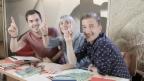 Video ««JRZ»-Spezial: Tina, Fabio und Stefan in der «Zambo»-Prüfung» abspielen
