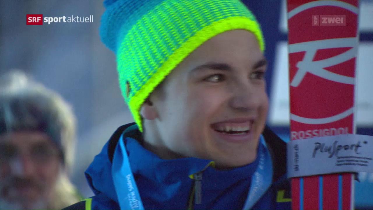 Gmür holt sensationell Silber an der Para-Ski-WM