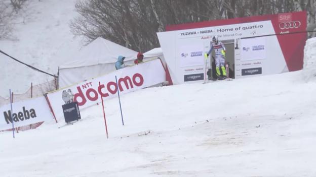 Video «Fritz Dopfers 2. Lauf im Slalom von Naeba» abspielen