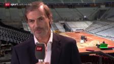 Video «Tennis: Heinz Günthardt über Wawrinkas Rolle» abspielen