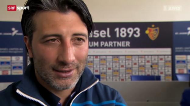 Video «Murat Yakin vor der Partie gegen GC» abspielen