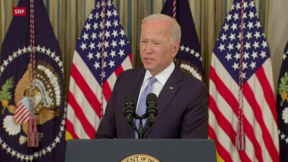 Joe Biden: «Diese Leute werden dafür bezahlen»