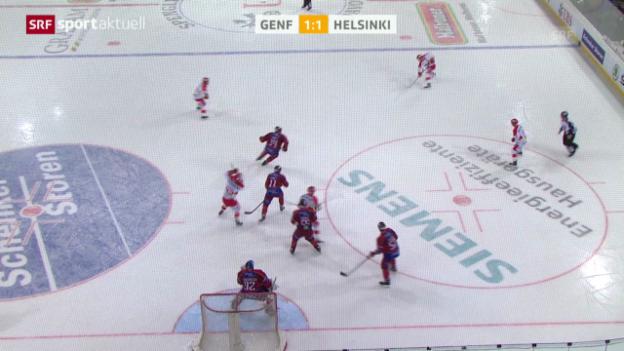 Video «Eishockey: Spengler Cup, Genf - Jokerit SPAK-Beitrag» abspielen