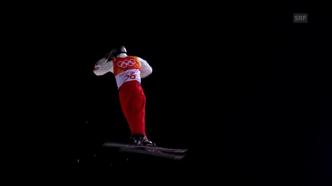 Gasser bewährt sich beim 2. Aerial-Sprung