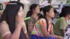 Video «Drohende Sanktionen für Burma» abspielen