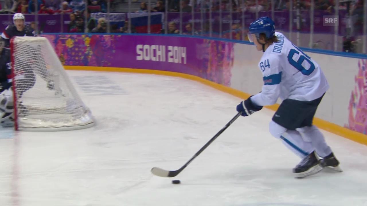 Eishockey: Finnland - USA