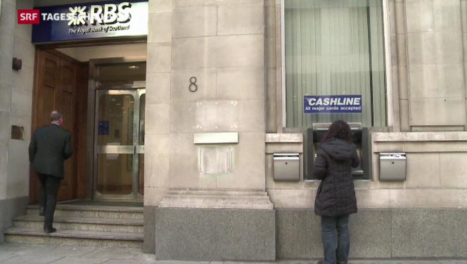 RBS entlöhnt Management trotz Defizit fürstlich