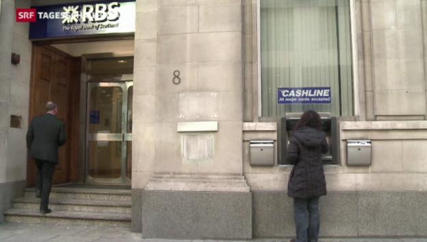 Video «RBS entlöhnt Management trotz Defizit fürstlich» abspielen