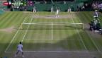 Video «Federer steht im Final in Wimbledon» abspielen