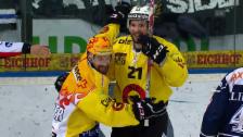 Video «Tor im Playoff-Final: Moser ist für Bern Gold wert» abspielen