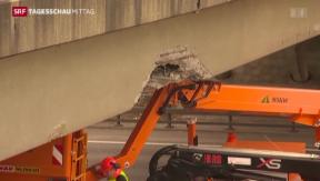 Video «Verkehrsunfall auf der Autobahn A1» abspielen