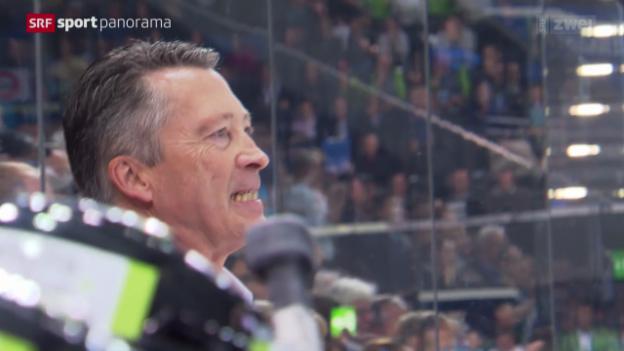Video «Videoperle: So tönt EVZ-Coach Harold Kreis» abspielen
