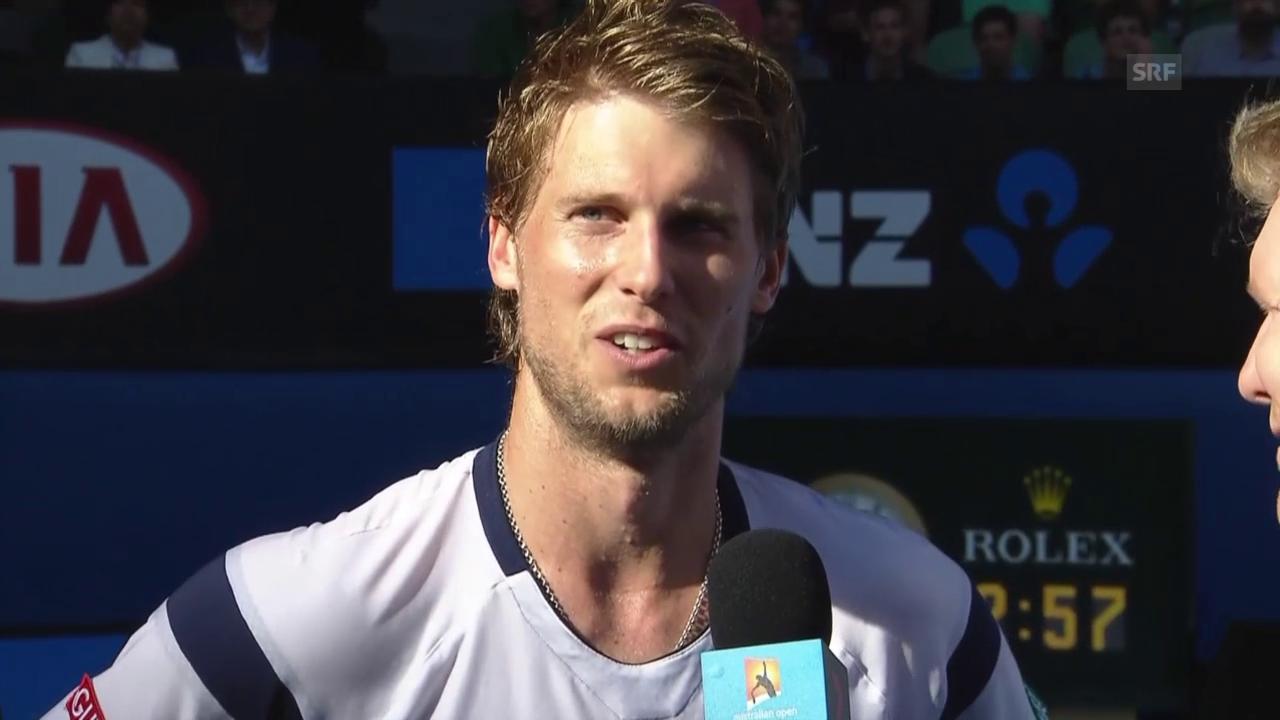Tennis: Australian Open, Interview mit Andreas Seppi
