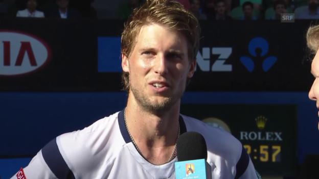 Video «Tennis: Australian Open, Interview mit Andreas Seppi» abspielen