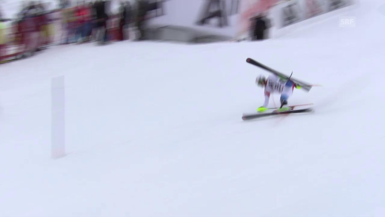 8 Starts, 8 Ausfälle: Das Schweizer Slalom-Debakel