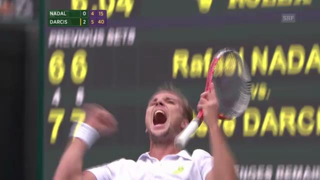 Wimbledon: Highlights Nadal - Darcis («sportlive»)