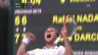 Video «Wimbledon: Highlights Nadal - Darcis («sportlive»)» abspielen