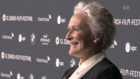 Video «Die Emotionen der Hollywoodlegende Glenn Close» abspielen
