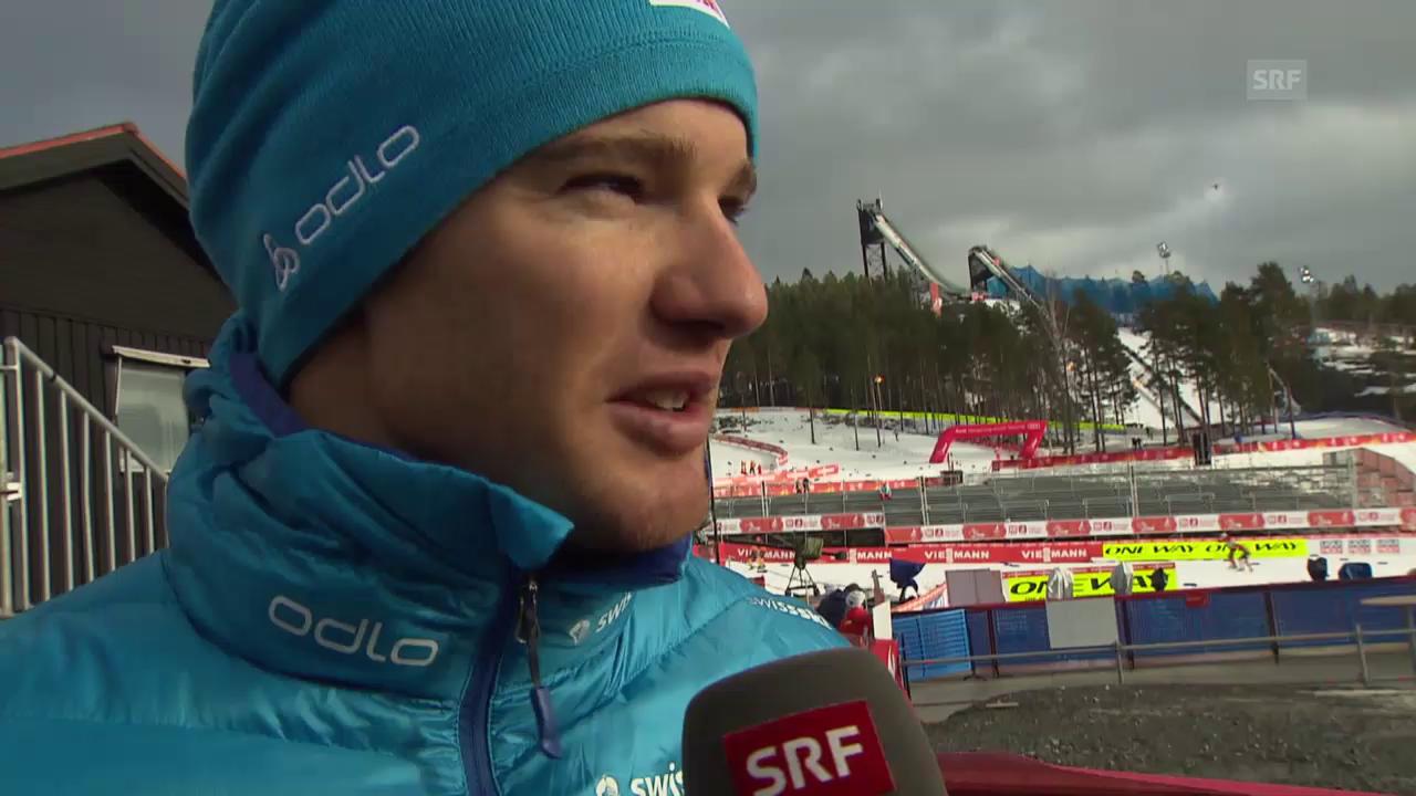 Nordisch-WM: Langlauf, Dario Cologna vor dem Skiathlon
