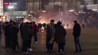 Video «FOKUS: Über 100 Anzeigen nach sexuellen Übergriffen in Köln» abspielen