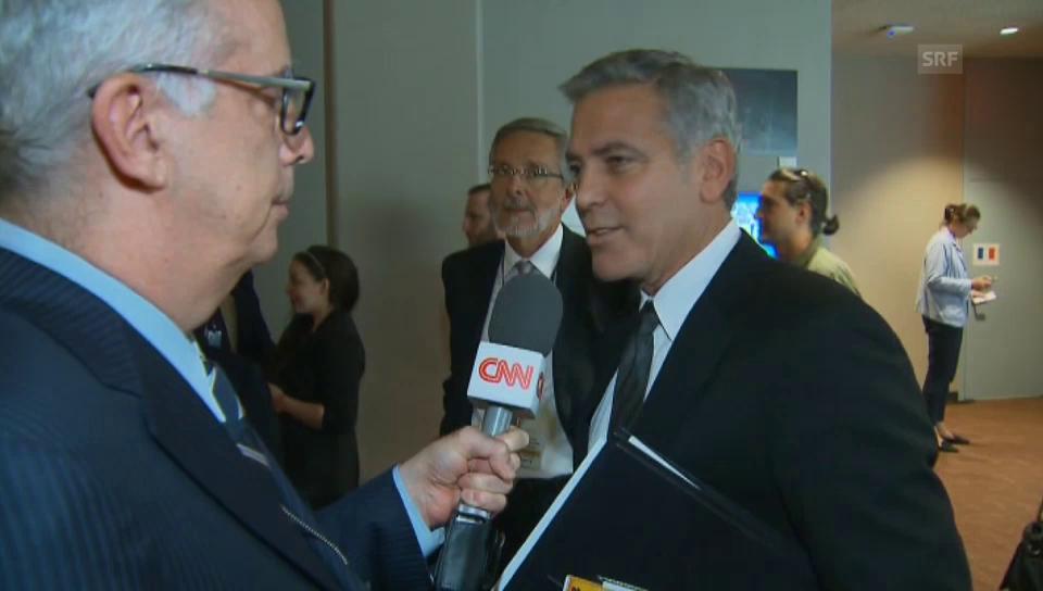 George Clooney über die Trennung