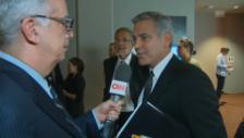 Video «George Clooney über die Trennung» abspielen