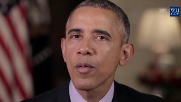 Video «Obama will die Waffenkäufe in den USA einschränken» abspielen