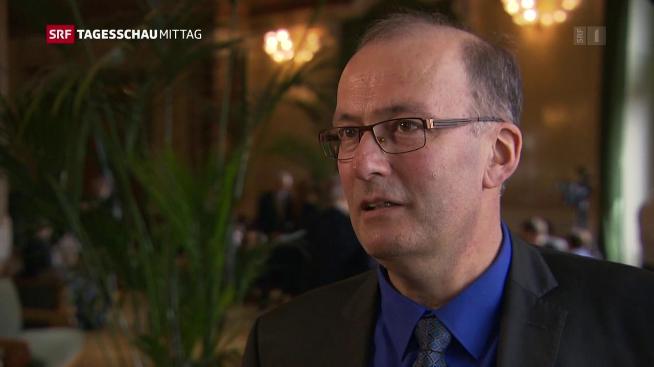 Markus Ritter nimmt Stellung