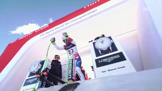 Video «Ski: WM-Super-Kombi Männer, 1. Fahrt Carlo Janka» abspielen