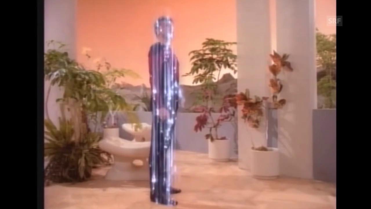 Das «Beamen» im Film «Star Trek» (Ausschnitte)