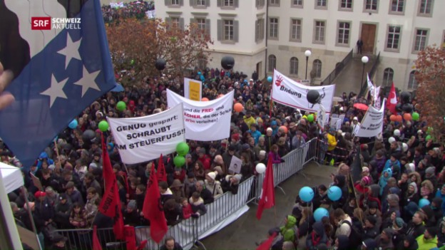 Video «Schweiz aktuell vom 08.11.2016» abspielen