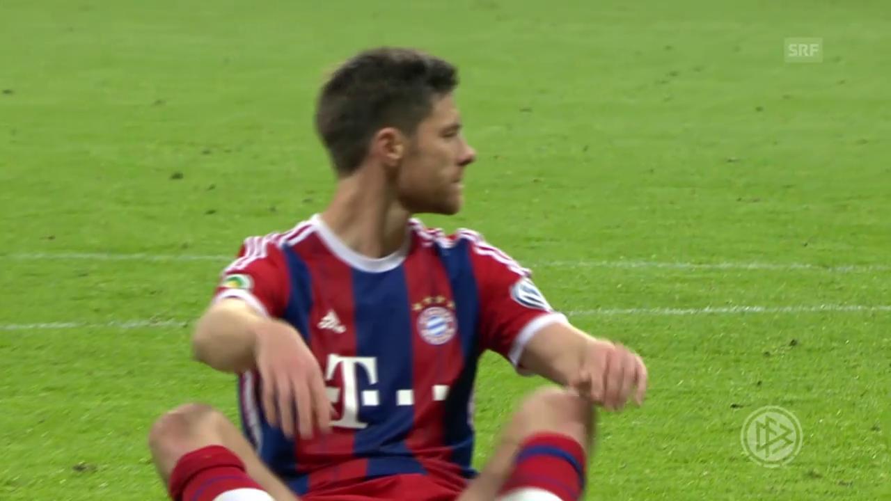Fussball: DFB-Pokal, Bayern-Dortmund