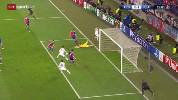 Video «Das Tor von Cristiano Ronaldo» abspielen