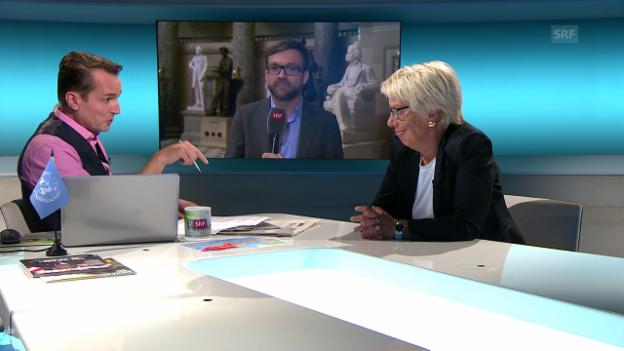 Video «Schlechte Zeiten für Menschenrechte - mit Carla Del Ponte» abspielen