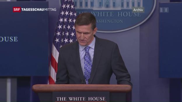 Video «Kurze Amtszeit für Sicherheitsberater Flynn» abspielen