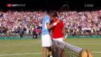 Video «Spektakel garantiert: Federer trifft in Miami auf Del Potro» abspielen