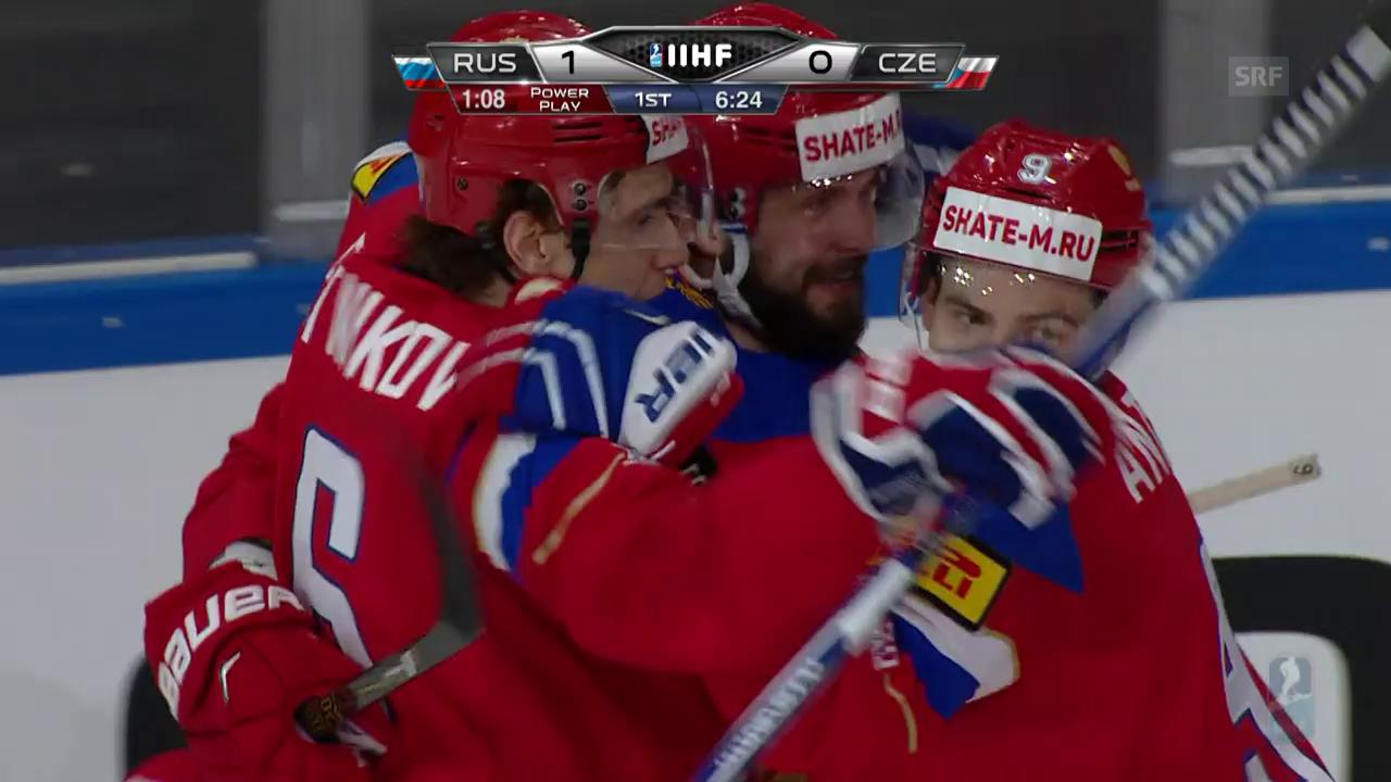 Russland wirft Tschechien raus