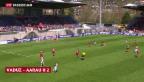 Video «Siege für Aarau und YB» abspielen
