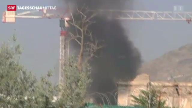 Talibankämpfer greifen Präsidentenpalast in Kabul an