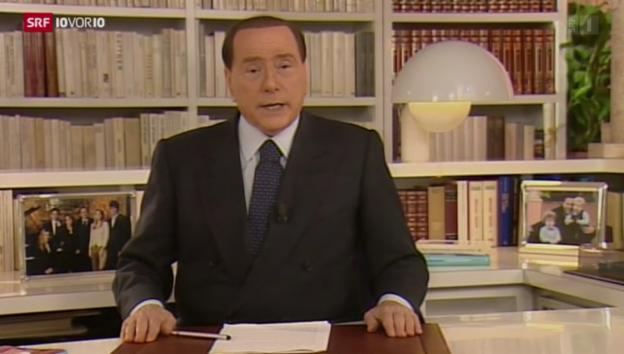 Video «Berlusconi will bleiben» abspielen