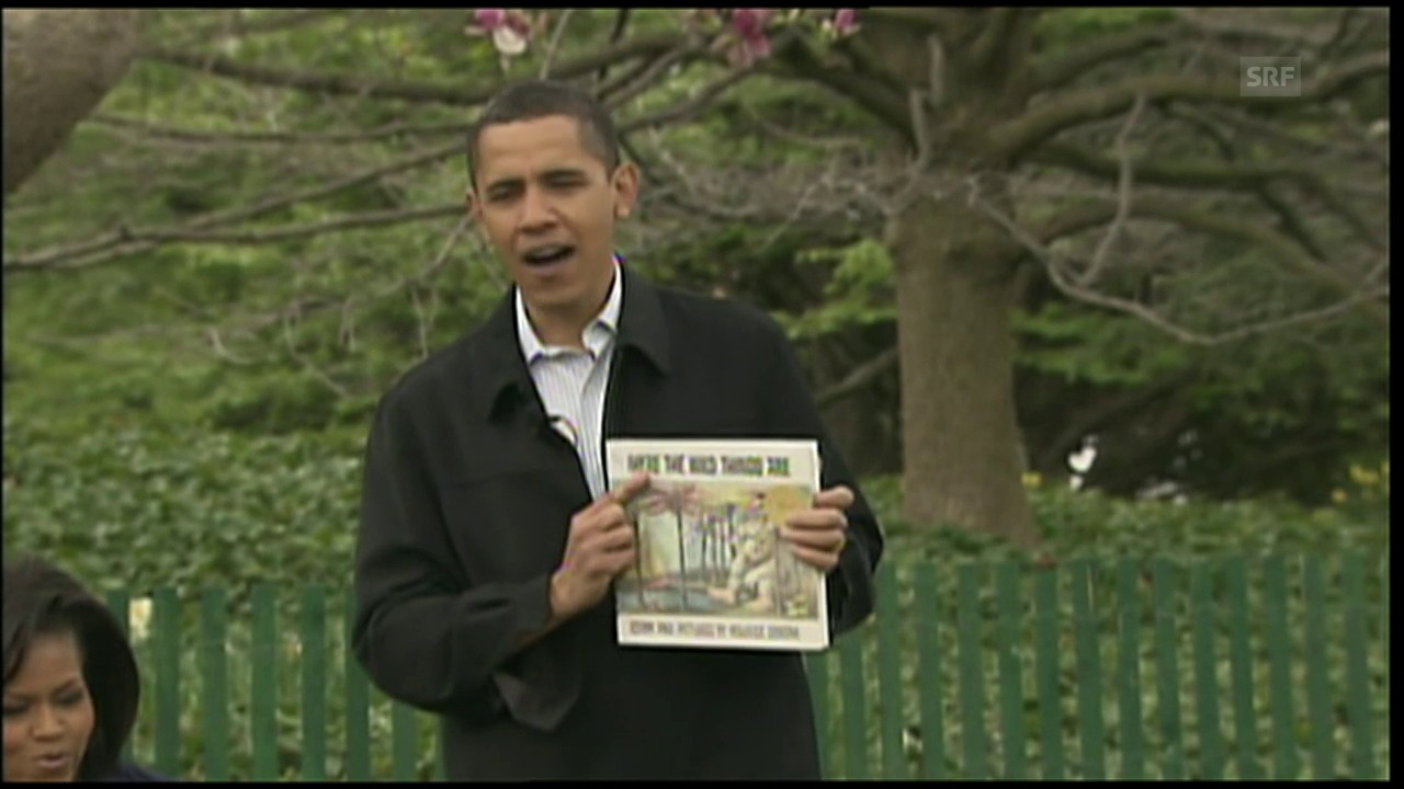 Ostern im White House (Agentur, 13.4.2009)