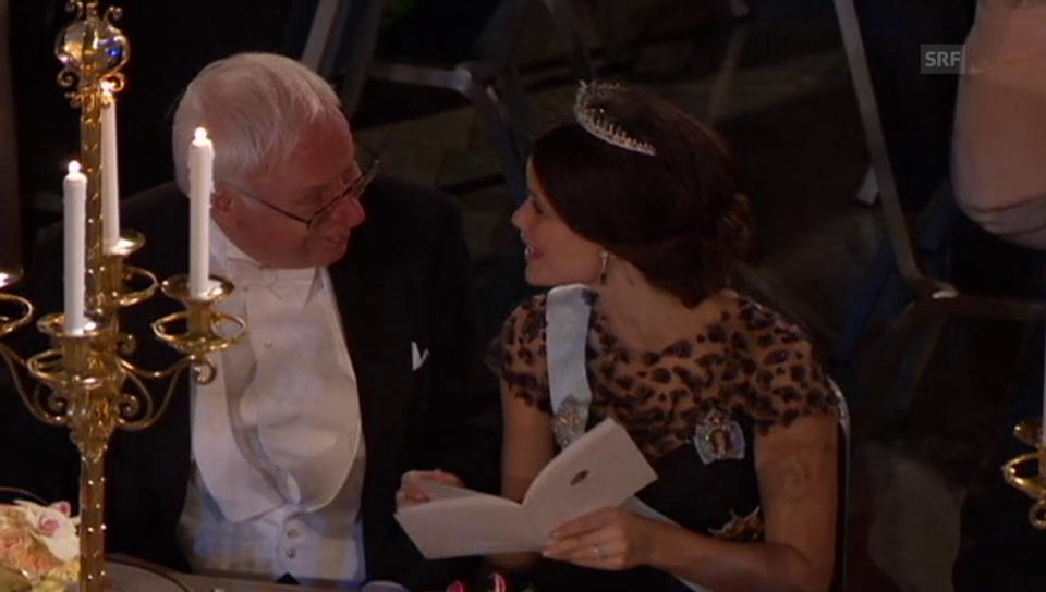 Die schwedischen Royals am Nobelpreis (unkommentiert)